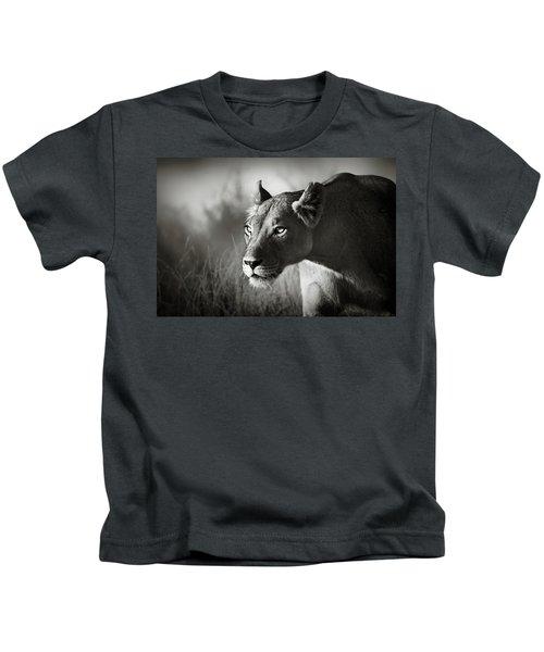 Lioness Stalking Kids T-Shirt