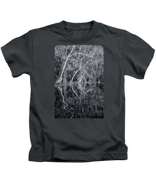 Liquid Silver Kids T-Shirt