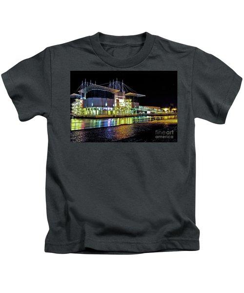 Lisbon - Portugal - Oceanarium At Night Kids T-Shirt