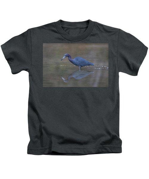 Little Blue Bubbles Kids T-Shirt