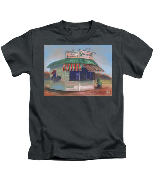 Little Drive-in On South Hawkins Ave Kids T-Shirt