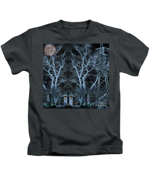 Little House In The Woods Kids T-Shirt