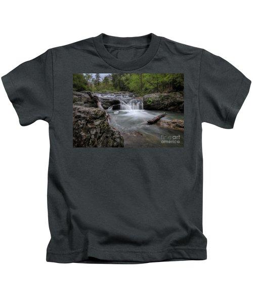 Little Missouri Falls Kids T-Shirt