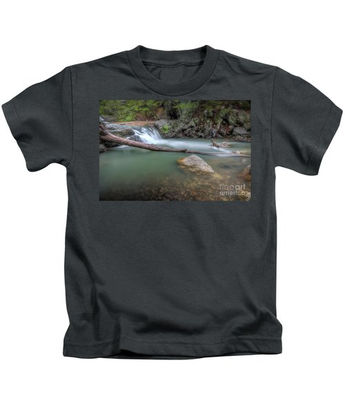 Little Missouri Falls 2 Kids T-Shirt