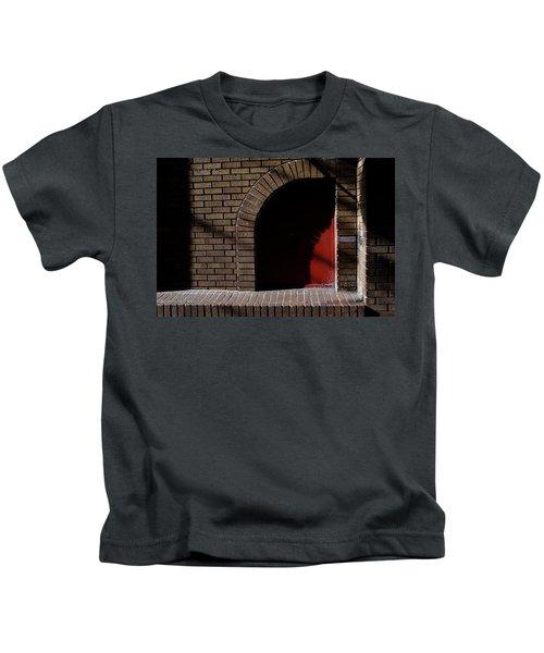 Little Red Corner In Downtown Orlando Florida Kids T-Shirt