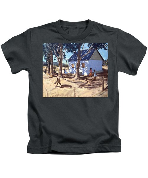 Little White House Karoo South Africa Kids T-Shirt by Andrew Macara