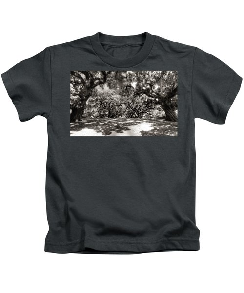 Live Oak Allee Infrared Kids T-Shirt