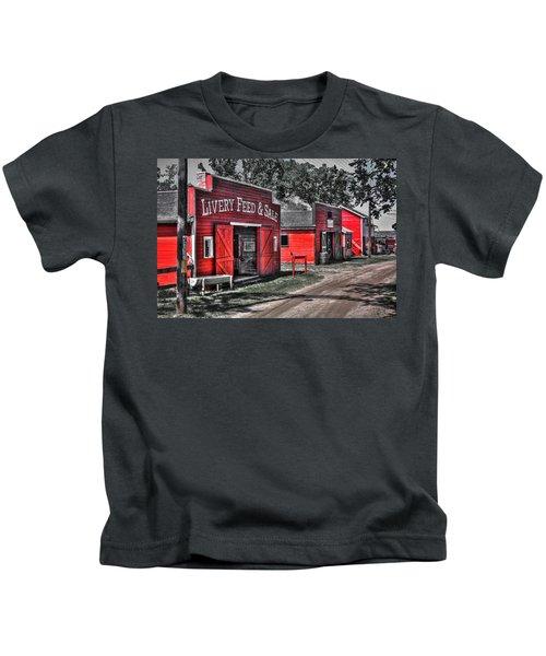 Livery Feed Kids T-Shirt