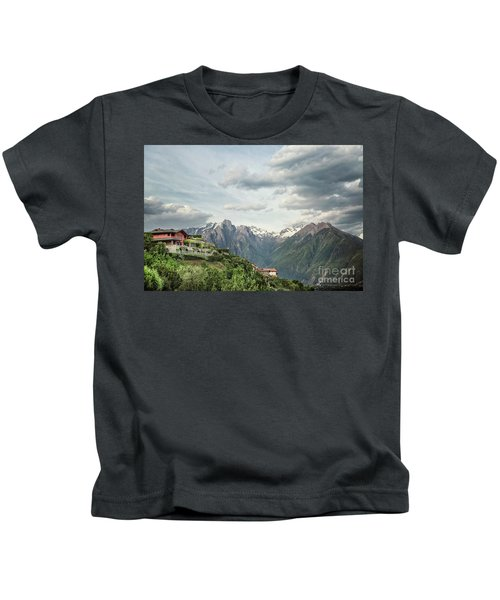 Living It Up On Top Kids T-Shirt