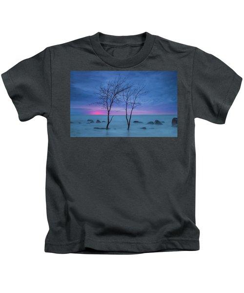 Lm Trees Kids T-Shirt
