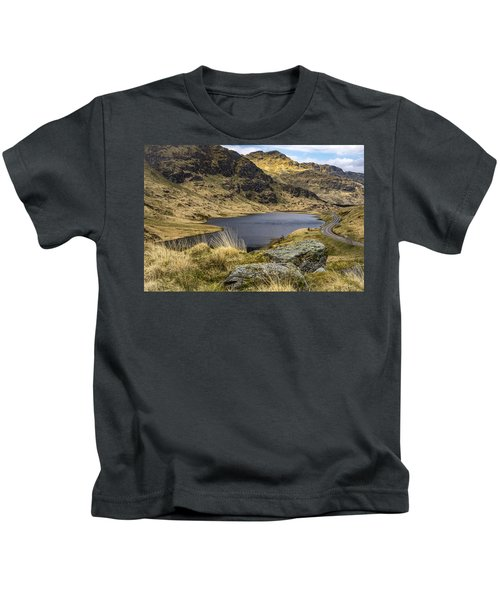 Loch Restil From Rest And Be Thankful Kids T-Shirt