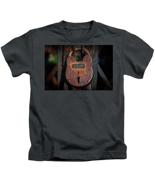 Locked Up Tight Kids T-Shirt
