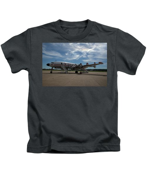 Lockheed Constellation Super G Kids T-Shirt