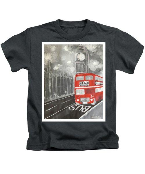 London City Abstract Kids T-Shirt