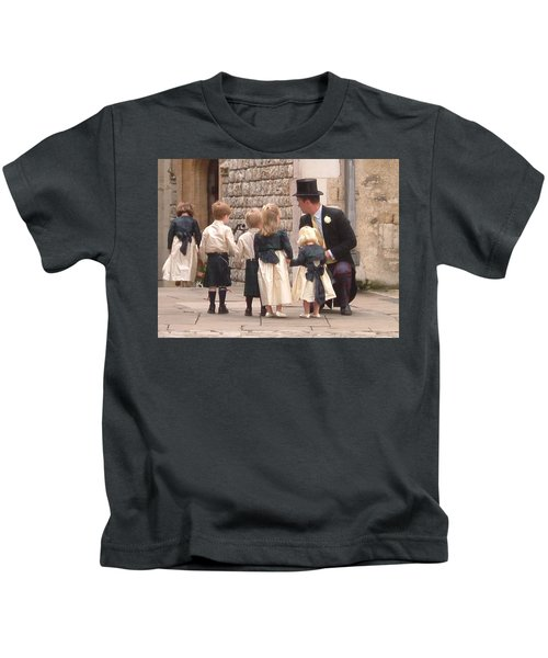 London Tower Wedding Kids T-Shirt