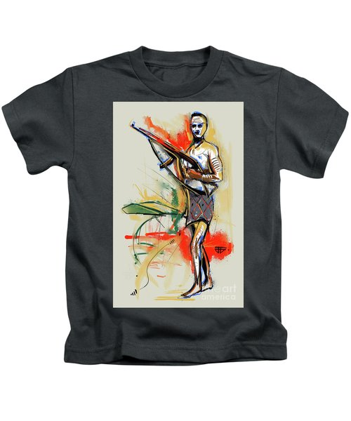 Lone Native Soldier Kids T-Shirt