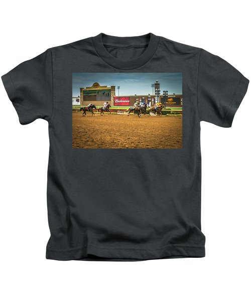 Lone Star Park Grand Prairie Texas Kids T-Shirt