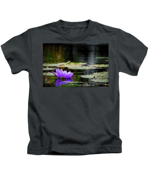 Lone Water Lilly Kids T-Shirt