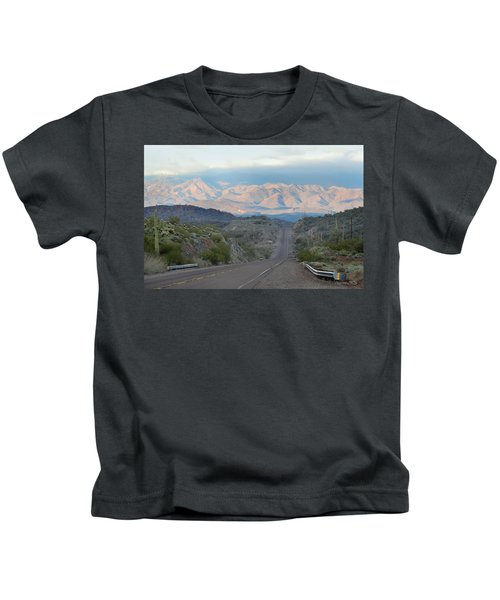 Lonely Road Kids T-Shirt