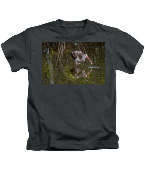 Long-billed Curlew - Male Kids T-Shirt