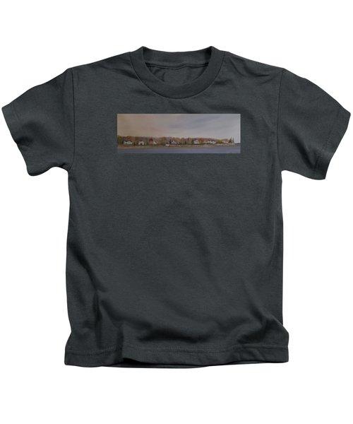 Long Cove Fall Kids T-Shirt