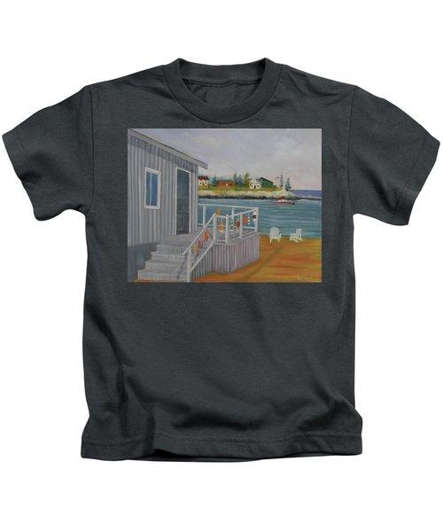 Long Cove View Kids T-Shirt