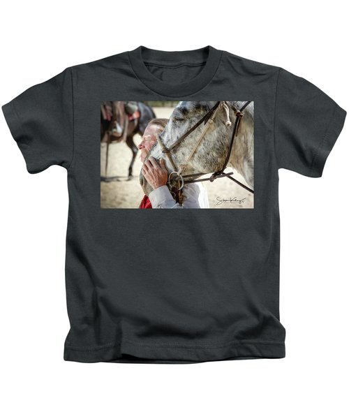 End Of A Long Day Kids T-Shirt