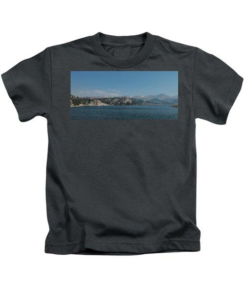 Long Lake Shoshone National Forest Kids T-Shirt