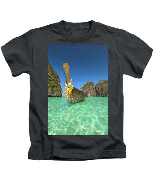 Long Tail Bot Kids T-Shirt
