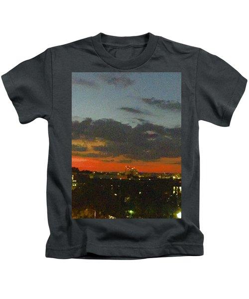 Longhorn Dusk Kids T-Shirt