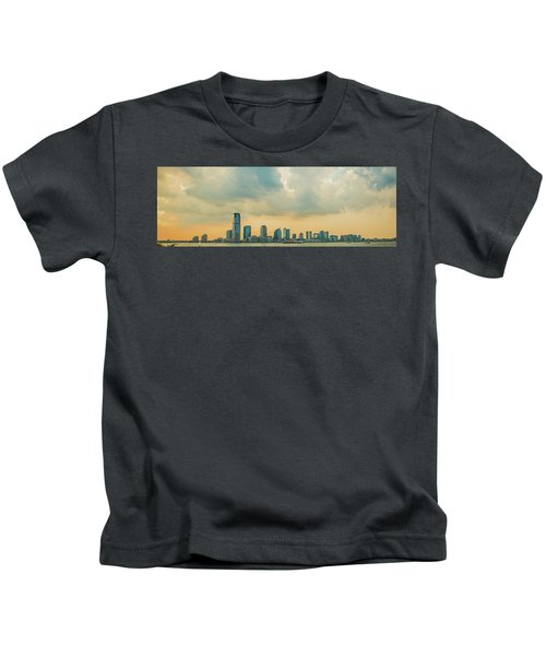 Looking At New Jersey Kids T-Shirt