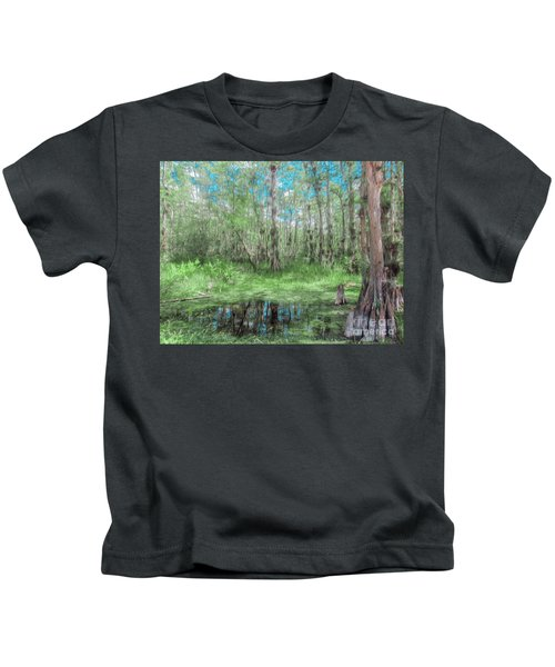 Looking Down At The Sky Kids T-Shirt