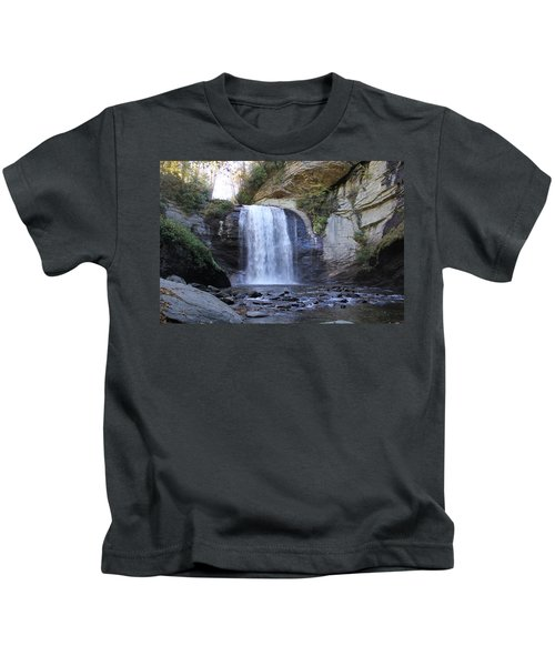 Looking Glass Falls Kids T-Shirt