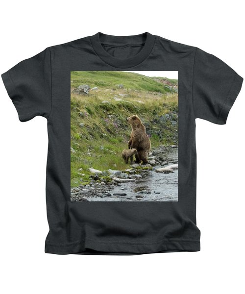 Looking Up The Bluff Kids T-Shirt