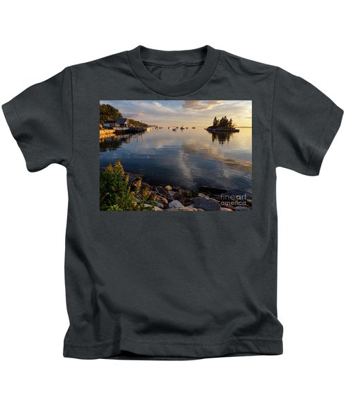Lookout Point, Harpswell, Maine  -99044-990477 Kids T-Shirt