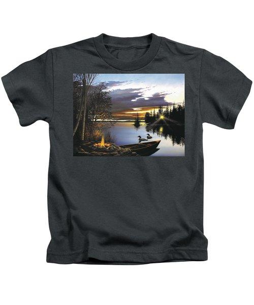 Loon Lake Kids T-Shirt