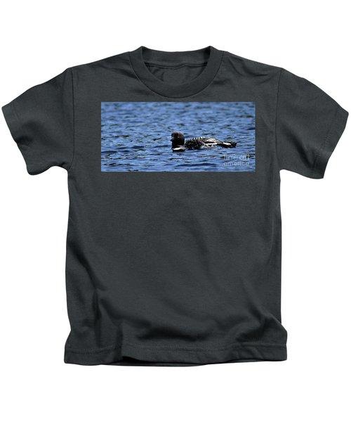 Loon Pan Kids T-Shirt by Skip Willits