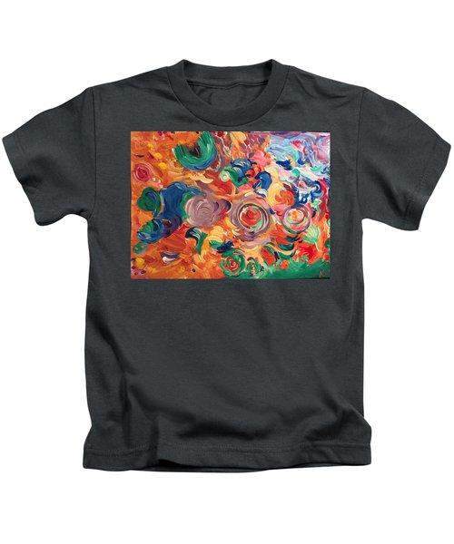 Lotus Blooms Kids T-Shirt