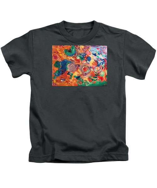 Lotus Blooms Kids T-Shirt