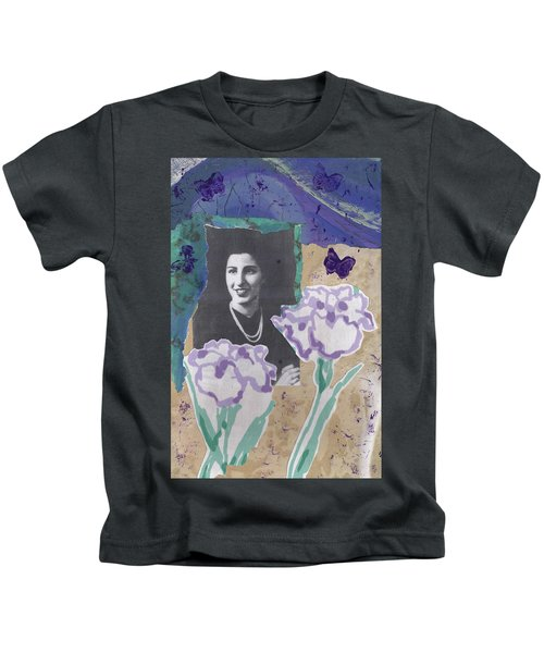 Louise In Boston 1944 In Memory Of My Mother Kids T-Shirt