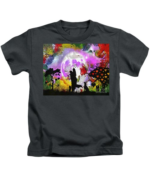 Love Family And Friendship In The Mix Kids T-Shirt