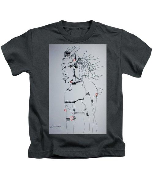 Love Is A Heartt Kids T-Shirt