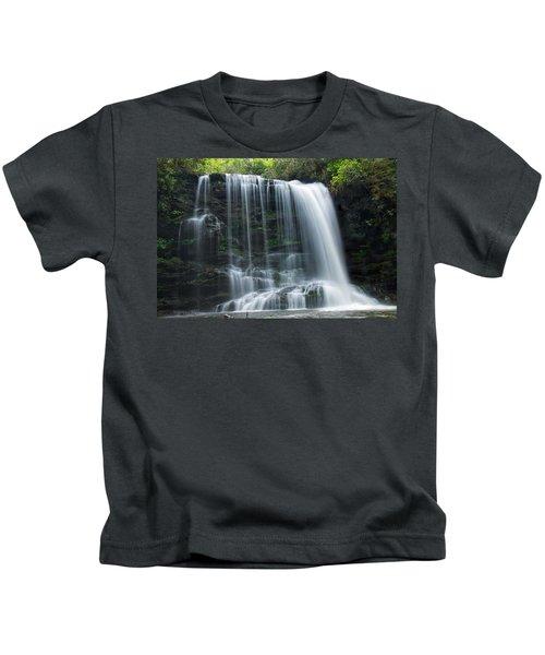 Lower Bearwallow Falls Kids T-Shirt