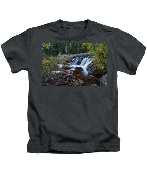 Lower Copeland Falls Kids T-Shirt