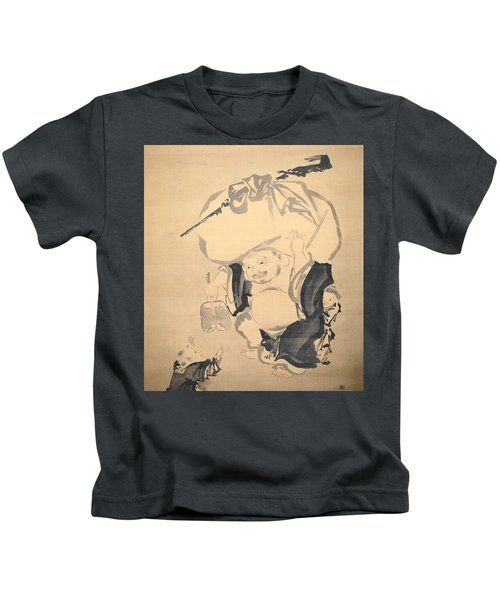 Lucky Gods Hotei Kids T-Shirt