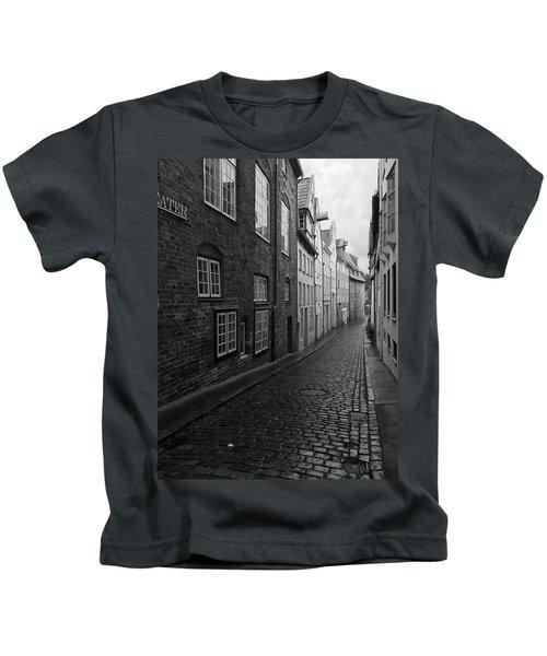 Luebeck Rainy Summer Kids T-Shirt