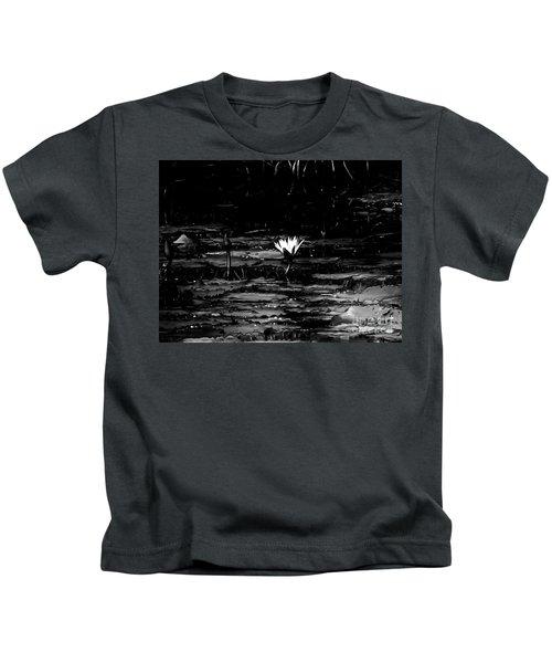 Luminous Water Lily  Kids T-Shirt