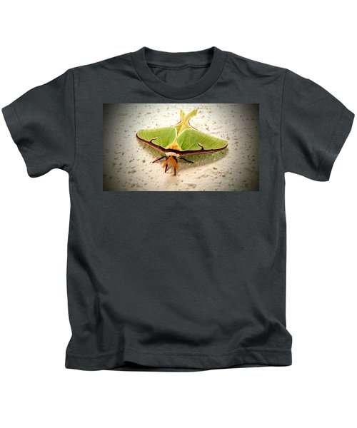 Luna Moth Kids T-Shirt