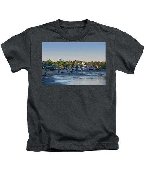 Lynn Waterfront Swampscott Water Tower Lynn Ma Kids T-Shirt