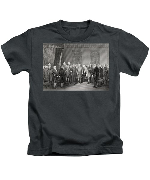 M Gerard The French Minister Introduced Kids T-Shirt